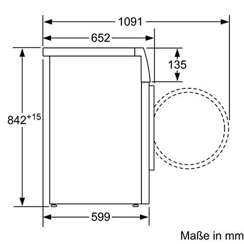 Siemens iQ700 WT46W261 iSensoric Wärmepumpentrockner - 6
