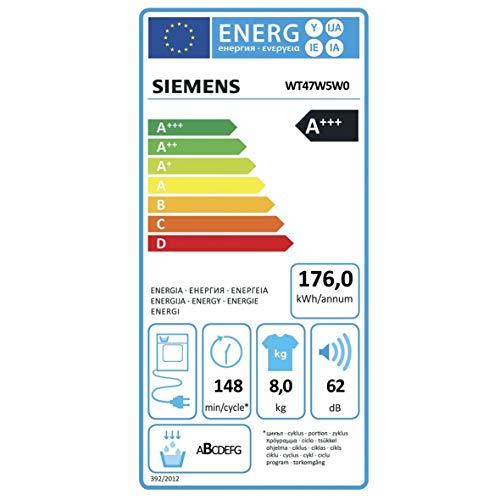 Siemens WT47W5W0 iQ700 Wärmepumpentrockner (A+++) - 3
