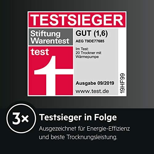 AEG T9DE77685 Wärmepumpentrockner (A+++) - 5
