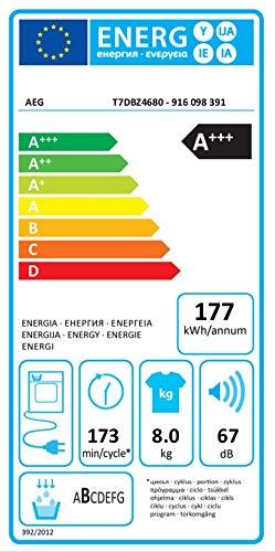 AEG T7DBZ4680 Wärmepumpentrockner (A+++) - 4