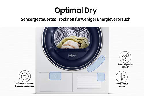 Samsung DV5000 DV81M50103W/EG Wärmepumpentrockner (A++) - 7