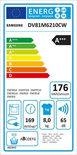 Samsung DV6000 DV81M6210CW/EG Wärmepumpentrockner (A+++) - 6