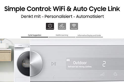 Samsung DV5000T DV8GT5220AW/S2 Wärmepumpentrockner (A+++) - 5