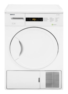 Beko DPU 7404 XE Wärmepumpentrockner / A+ / 266 kWh/Jahr / 7 kg / Weiß / Trommelinnenbeleuchtung -